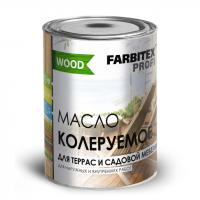 Масло колеруемое для террас и садовой мебели калужница (0.9 л) FARBITEX  ПРОФИ GOOD FOR WOOD